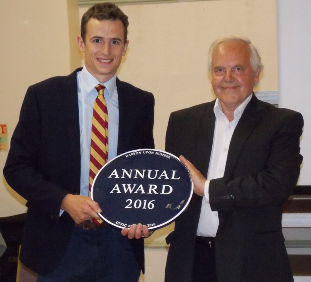 Barton upon Humber Civic Society Annual Award