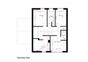 The Scawby - First Floor Plan