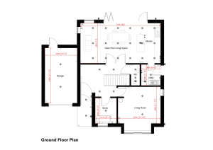 The Wootton - Ground Floor Plan