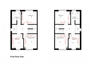 The Appleby - First Floor Plan